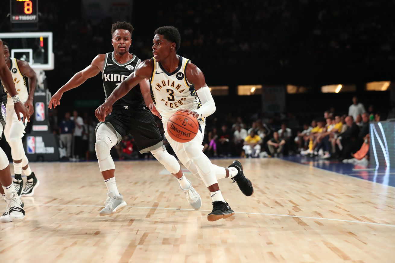 Pacers ride bench to back-to-back win over Kings in India