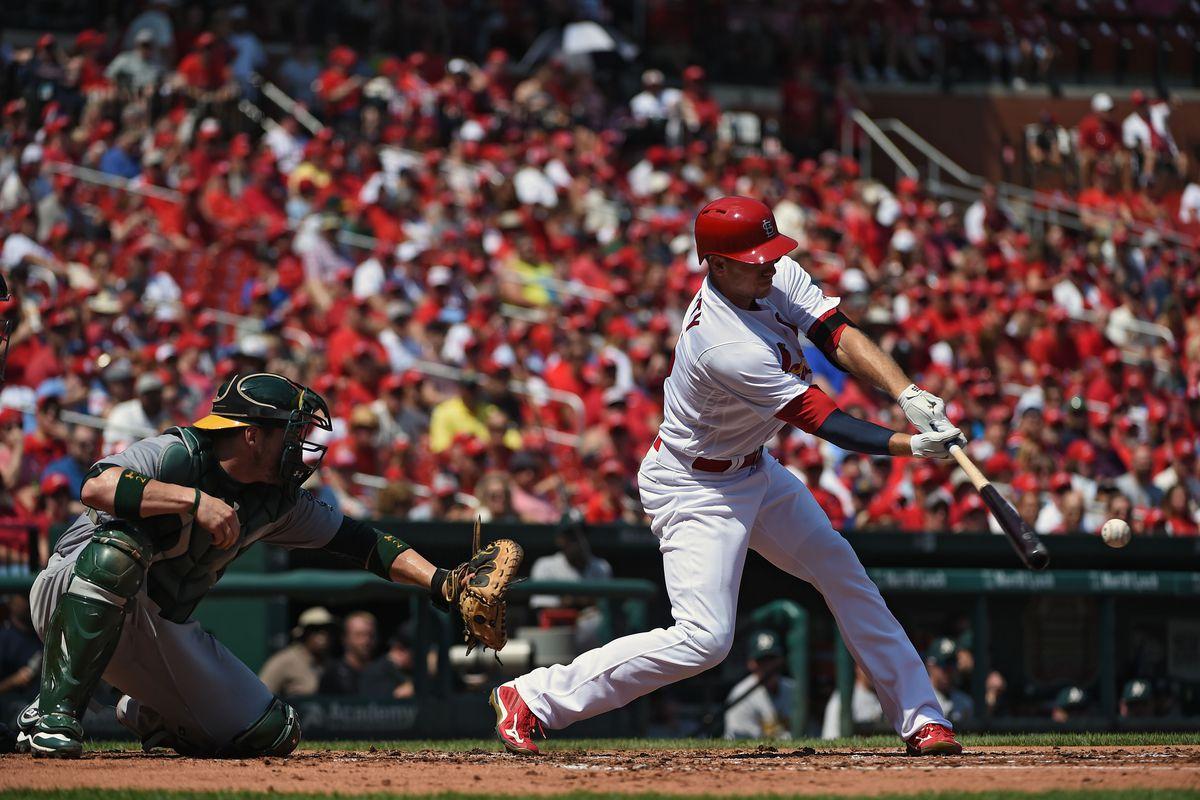 MLB: Oakland Athletics at St. Louis Cardinals
