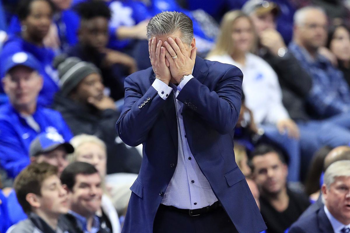 Kentucky's upset loss to Evansville brings back questions of toughness for Wildcats coach John Calipari.