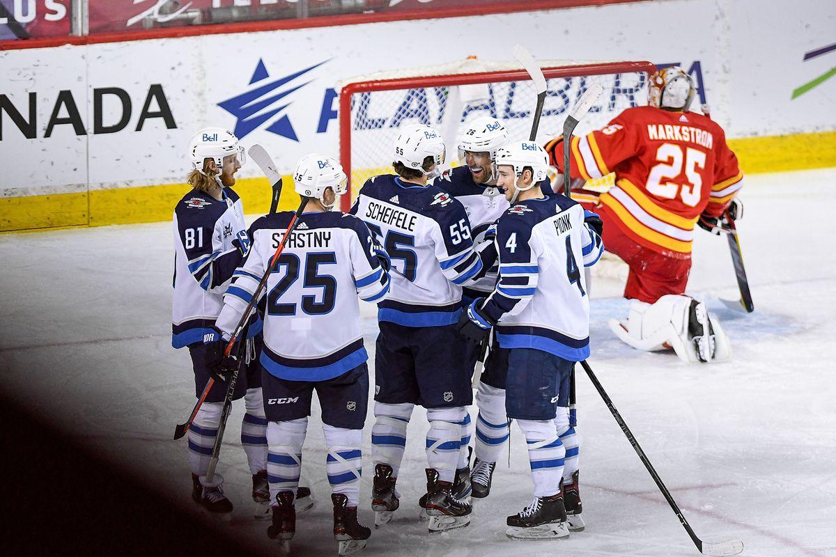 NHL: MAY 05 Jets at Flames