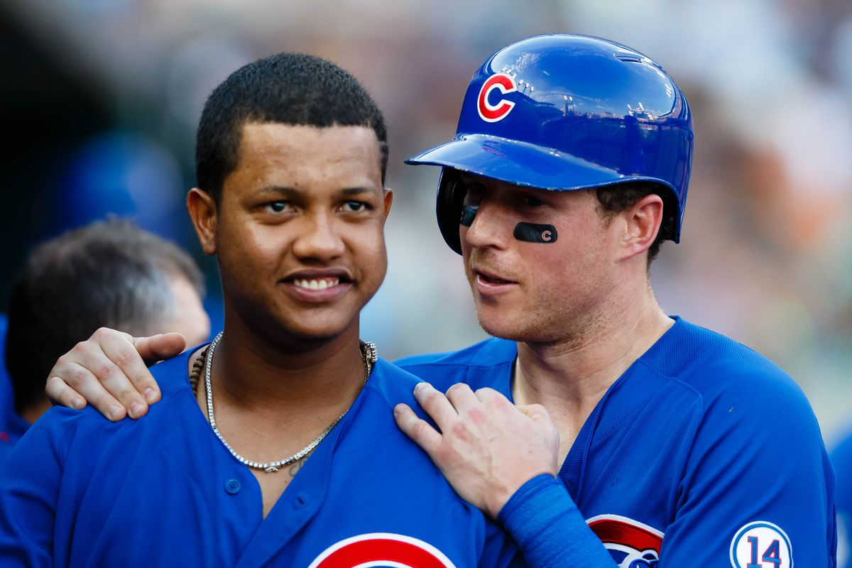 Just what is Cogs telling Starlin? Write your own caption.