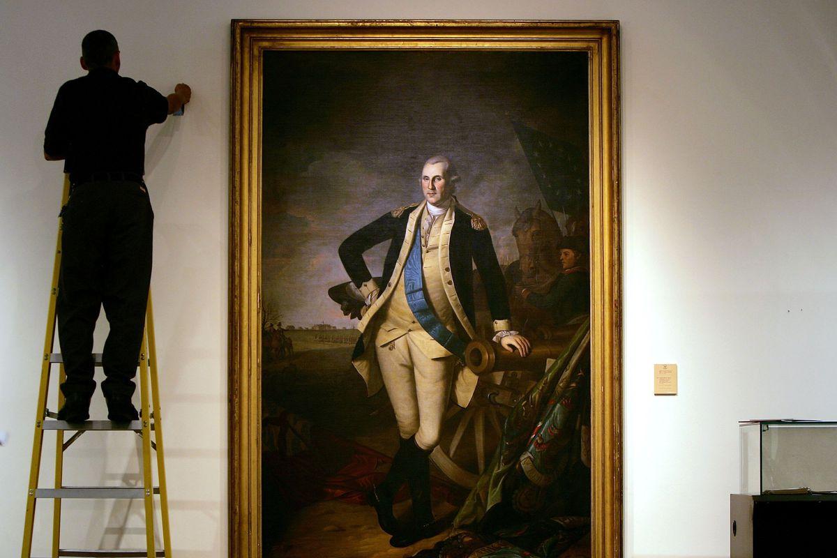 Christie's Unveils Rare George Washington Portrait