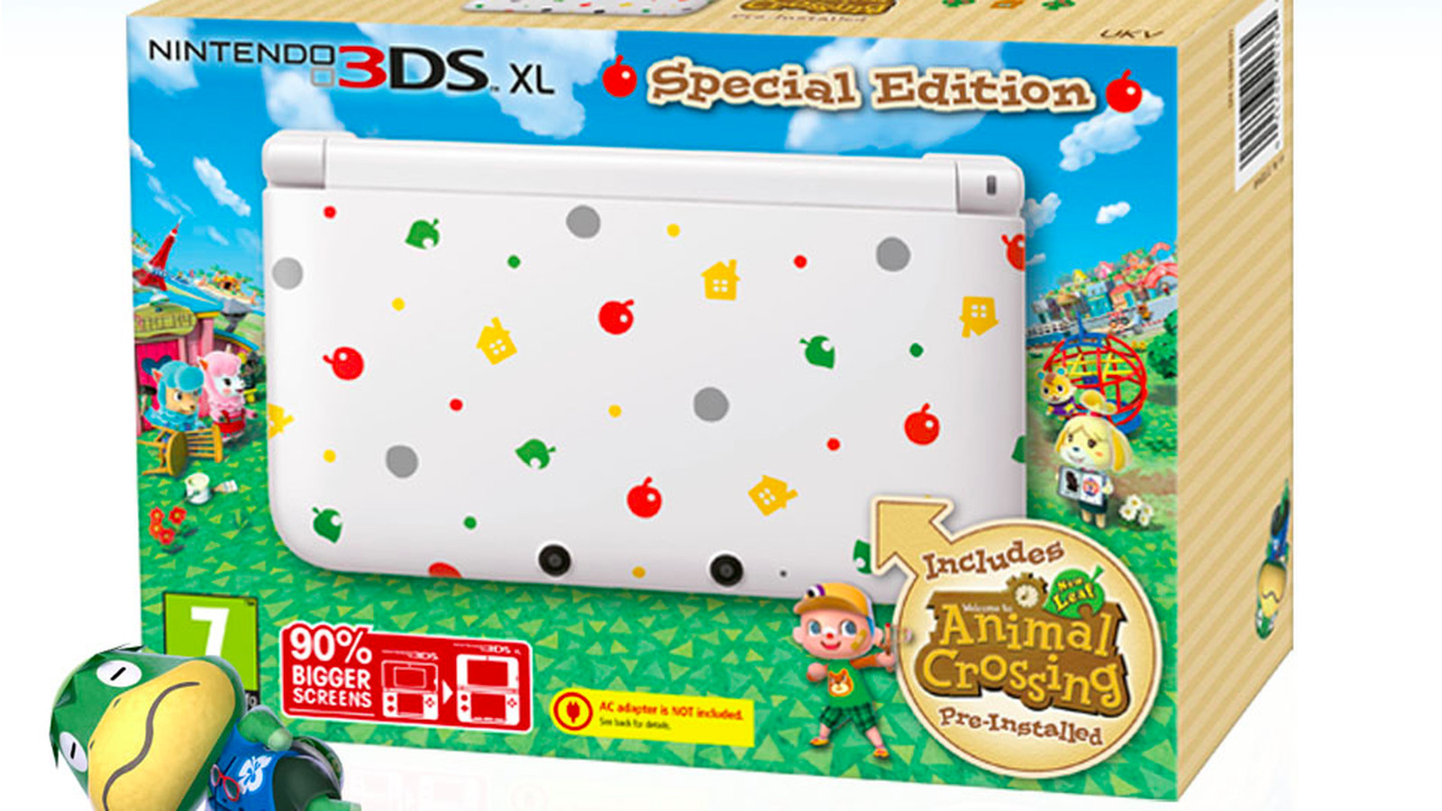 Animal Crossing: New Leaf 3DS XL Bundle Coming To North