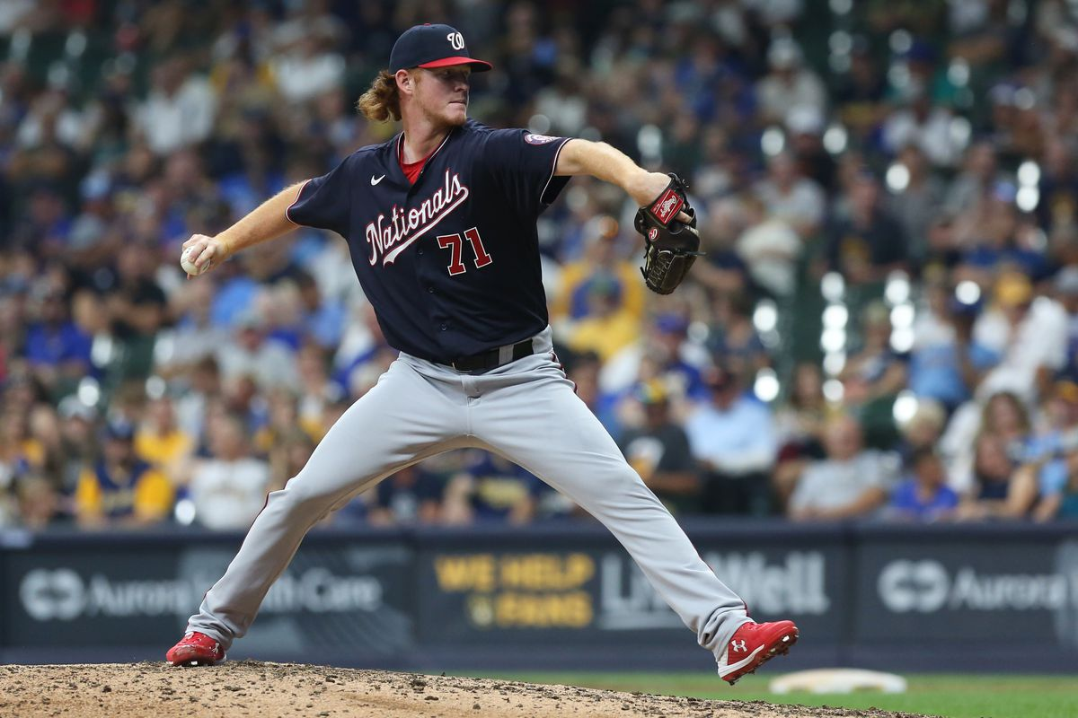 MLB: AUG 20 Nationals at Brewers