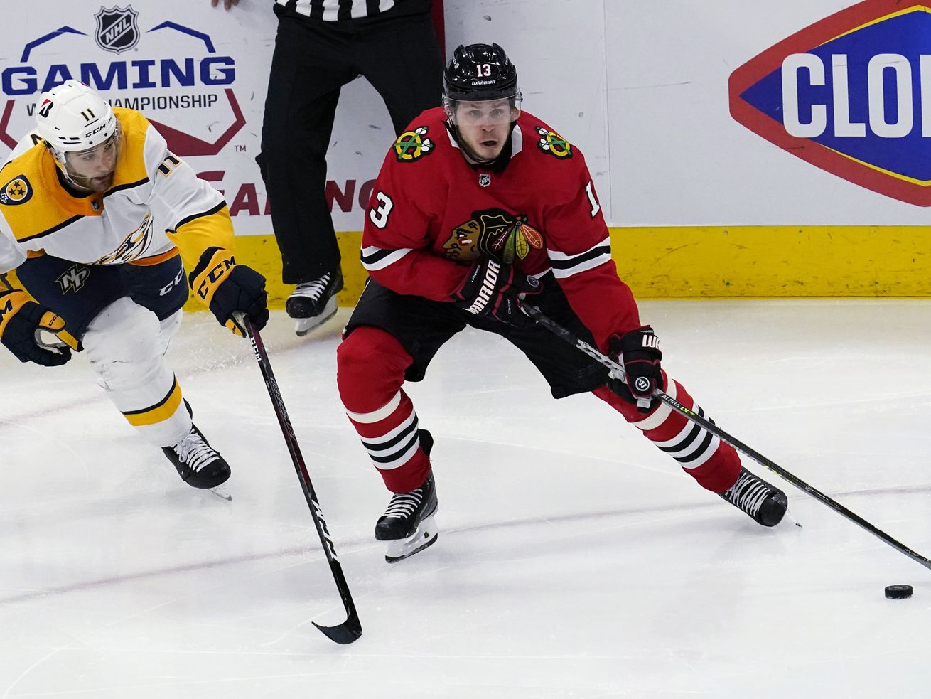 Blackhawks notebook: Mattias Janmark scratched and more pre-deadline trade buzz