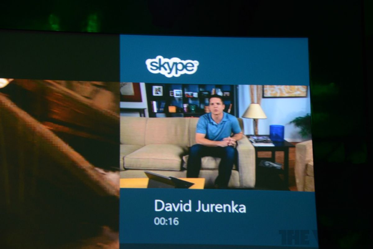 skype for xbox
