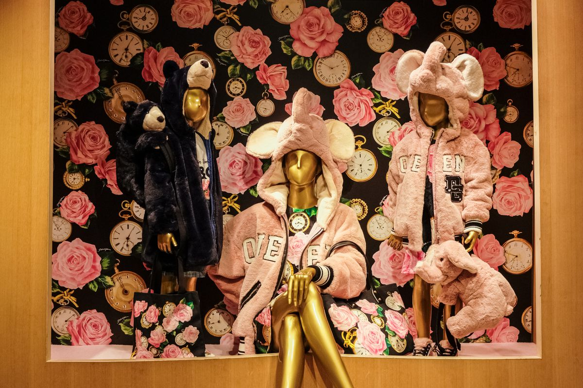 Dolce & Gabbana Pop-up Store Launch At Isetan In Tokyo