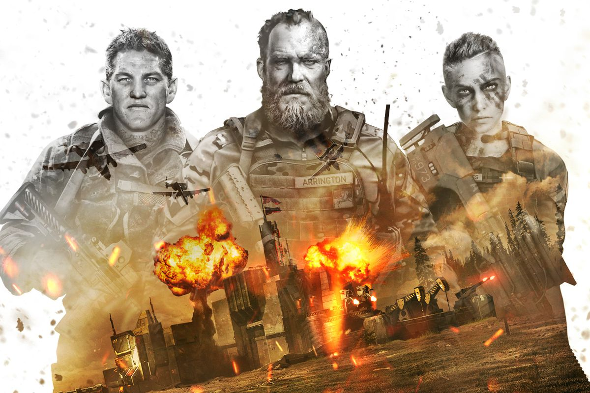 Hero image of the Western forces faction in War Commander: Rogue Assault