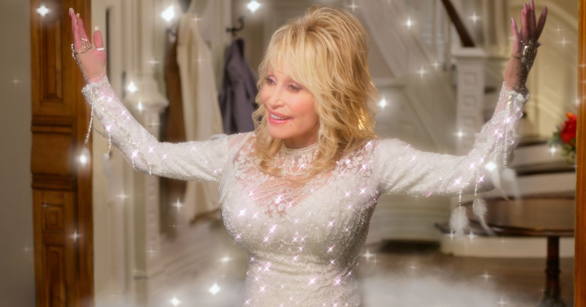 Dolly Parton's new Netflix special is the one cheesy holiday musical to rule them all