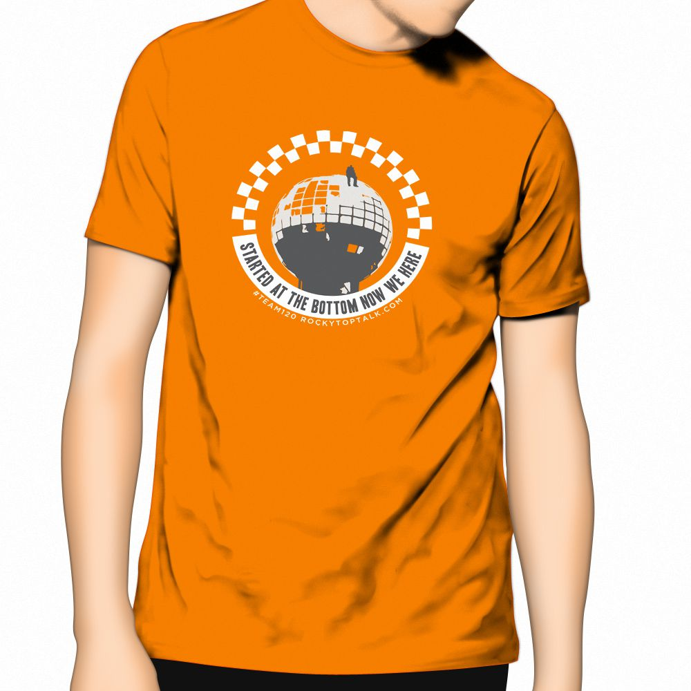 RTT 2016 Official Now We Here tee (orange)
