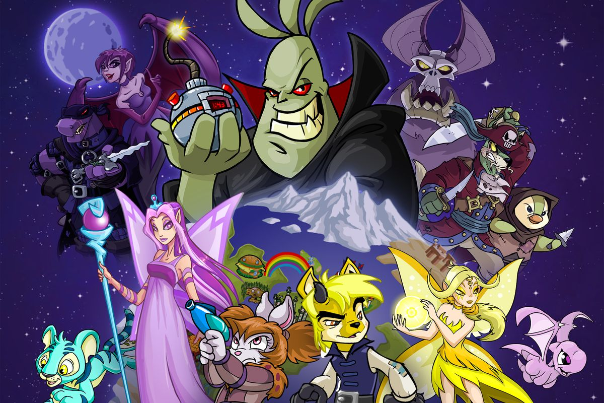 Characters from the Neopets online game franchise.