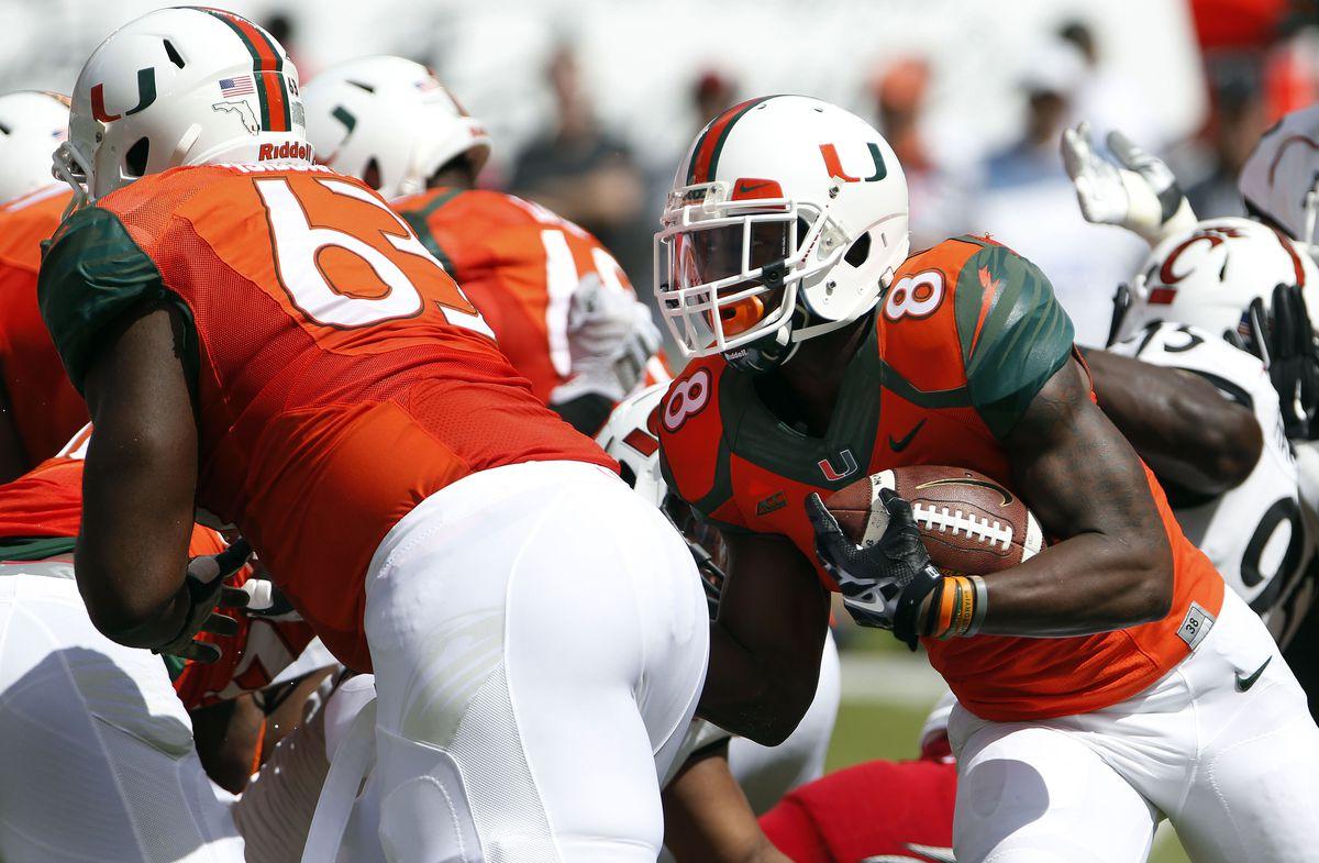 NCAA Football: Cincinnati at Miami