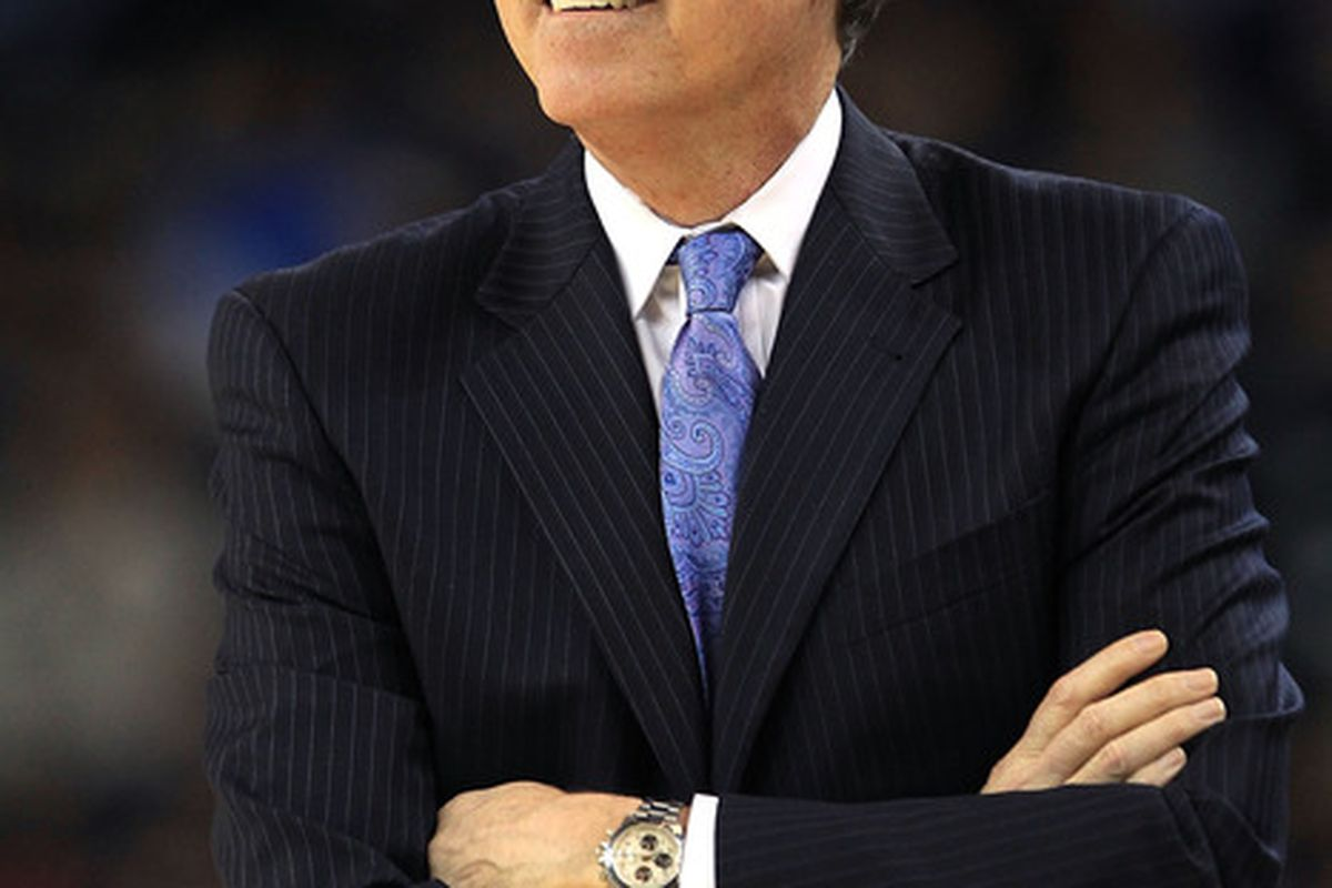 New York Knicks head coach <strong>Mike D'Antoni</strong>.  (Photo by Ezra Shaw/Getty Images)