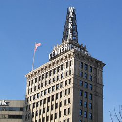 Long an iconic symbol in downtown Salt Lake City, the tower atop the Walker Center also reports the weather forecast 24-7.