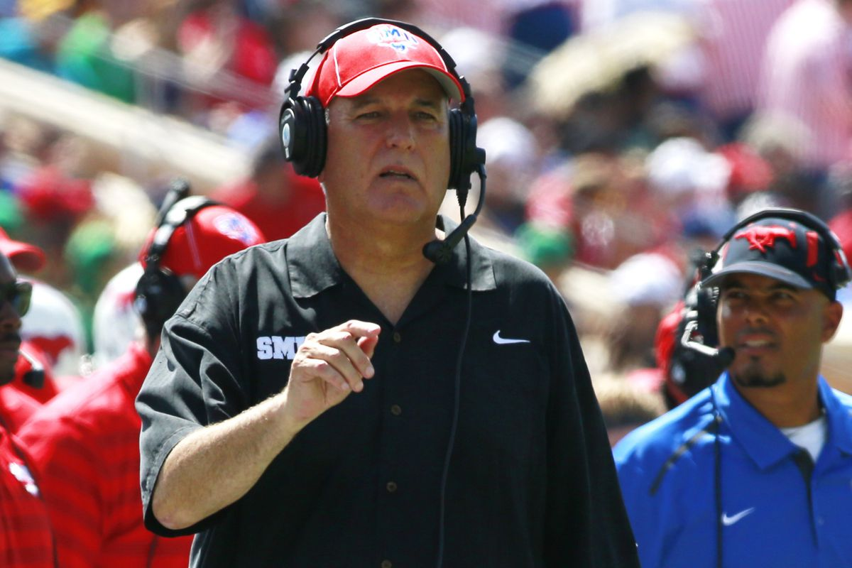 June Jones resigns as SMU football coach amid 'personal issues' - SBNation.com