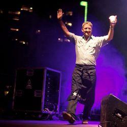 Tim Love, everybody! // photo by Patrick Michels