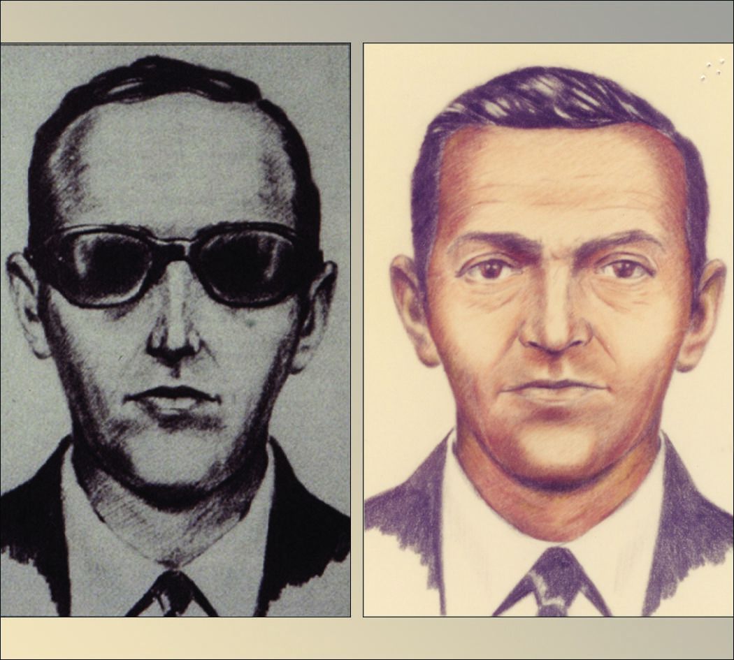DB Cooper sketches from 1971