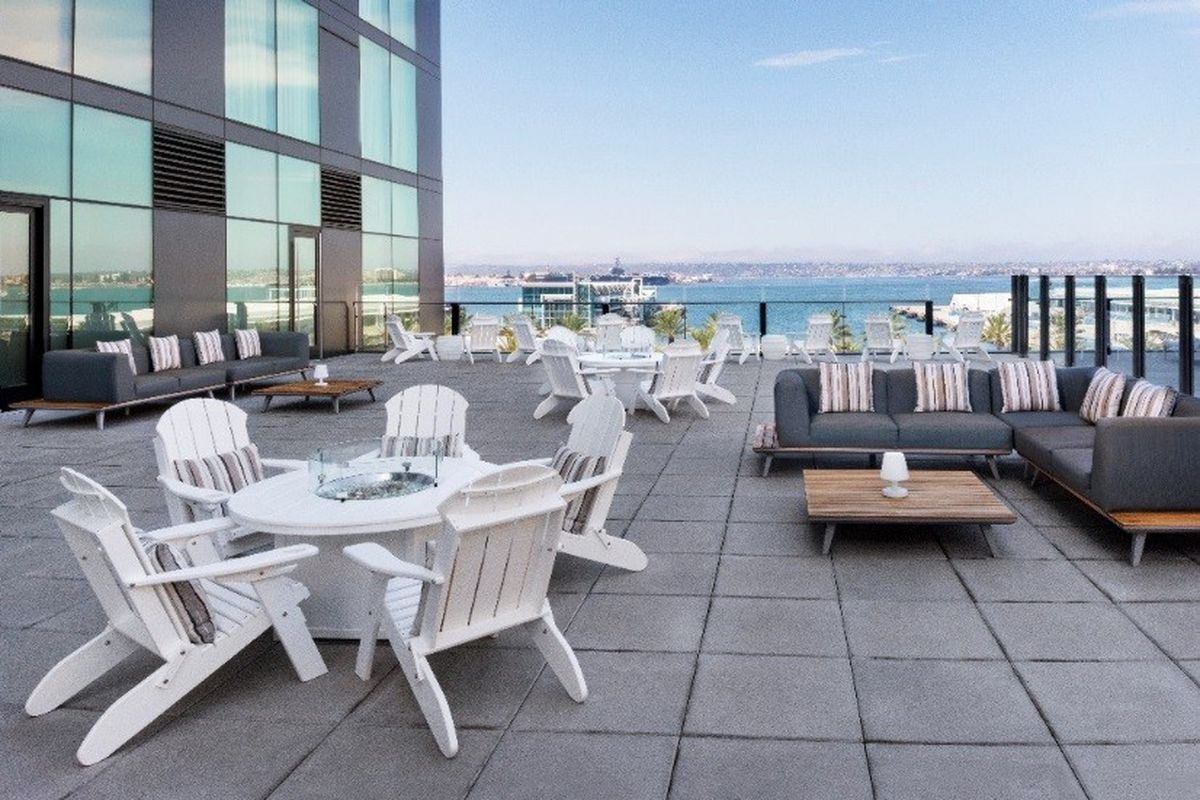 Downtown Rooftop Bar Takes Flight This Weekend Eater San Diego