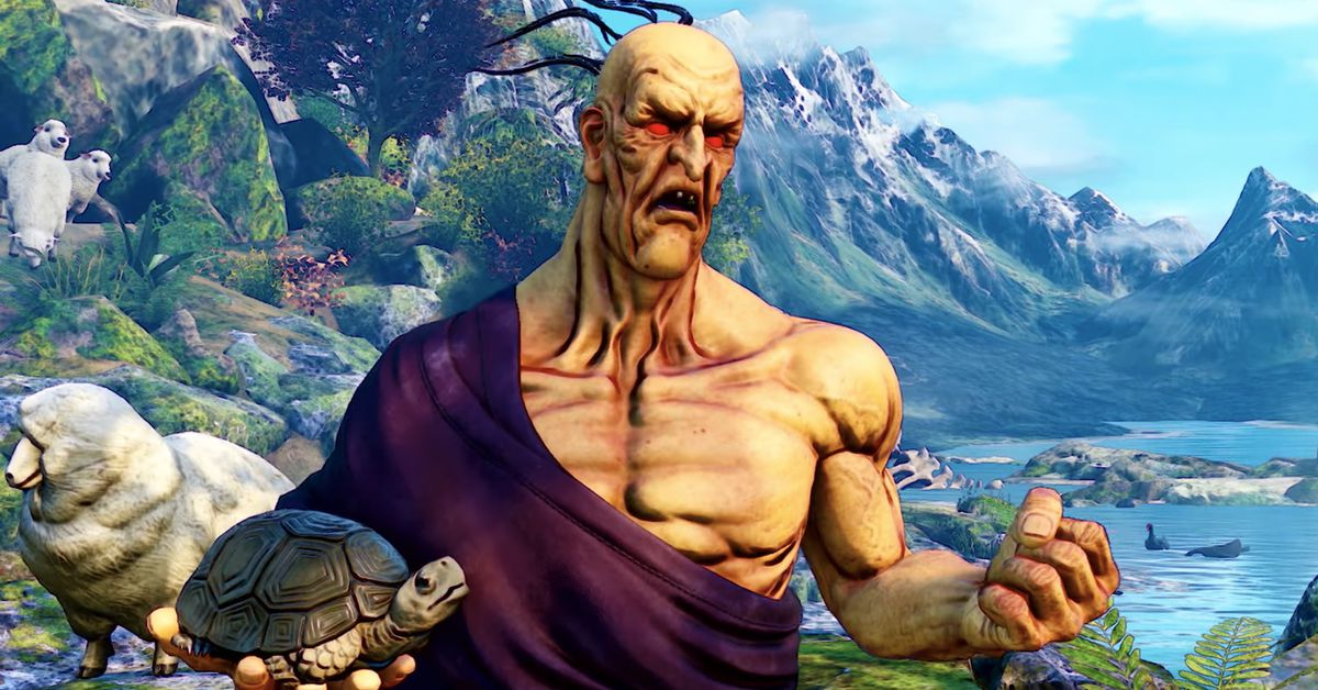 Street Fighter 5's Oro always carries his pet turtle with him - Polygon