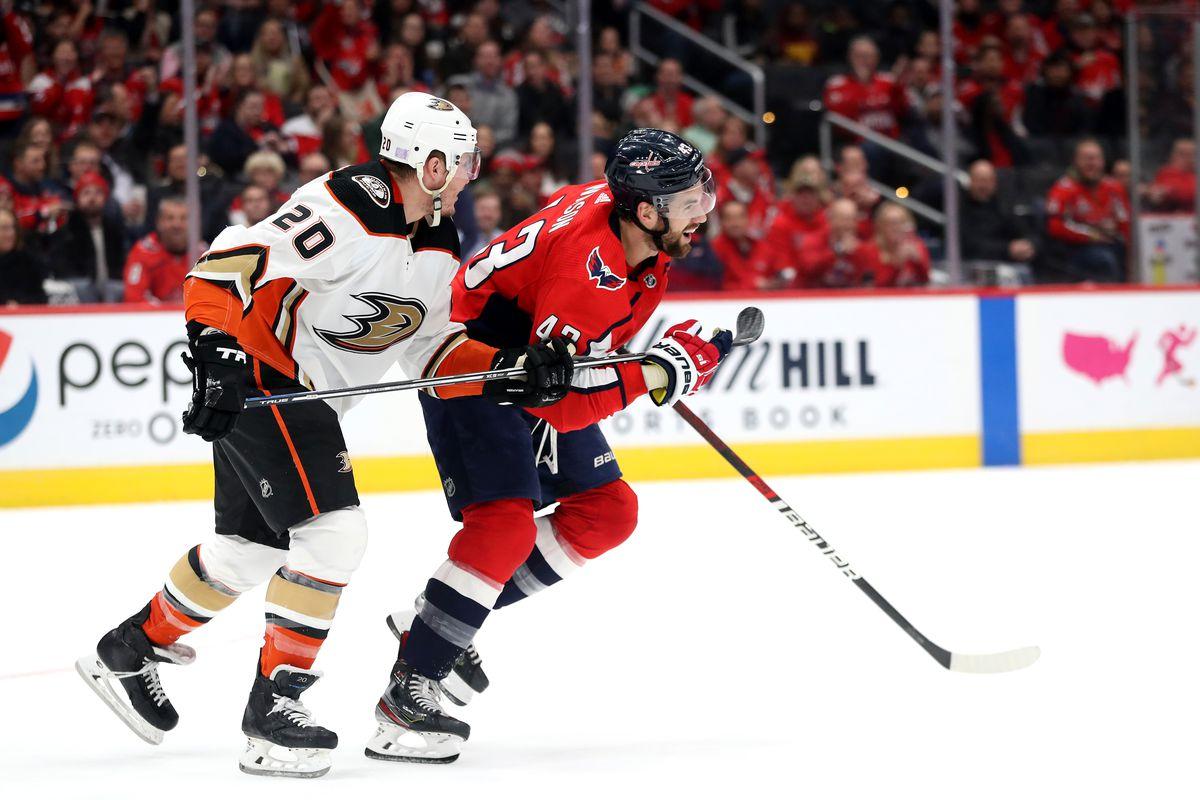 Anaheim Ducks v Washington Capitals