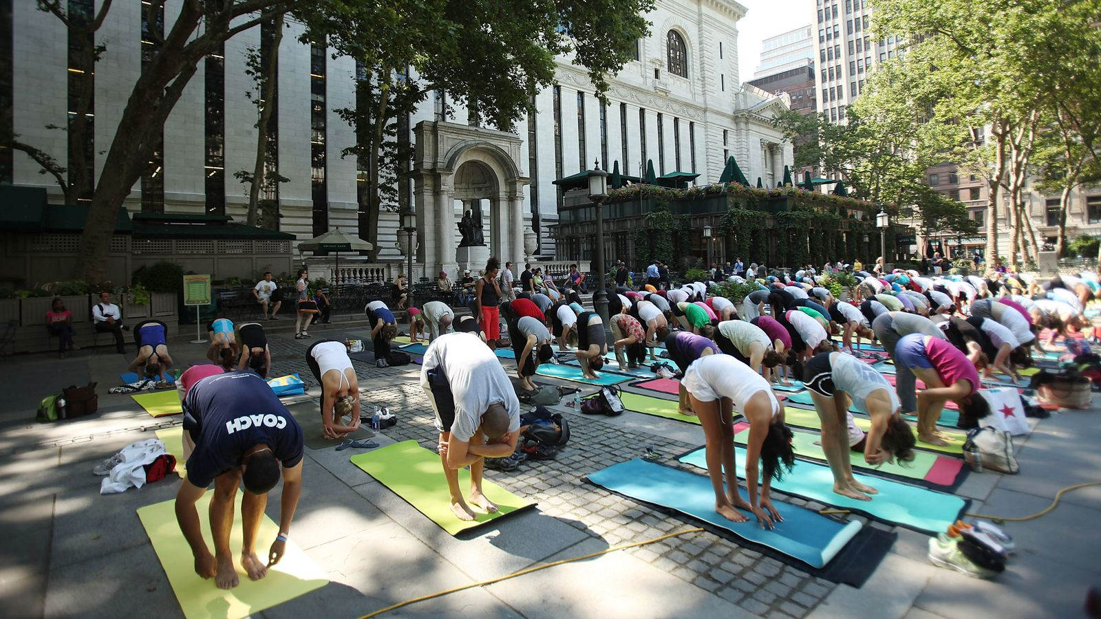 All the free outdoor workouts you can do in new york city for What can you do in new york city