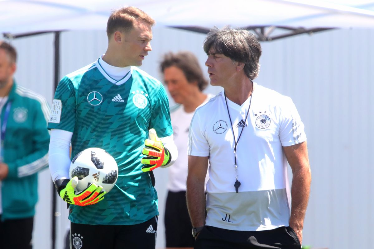 Germany Training & Press Conference