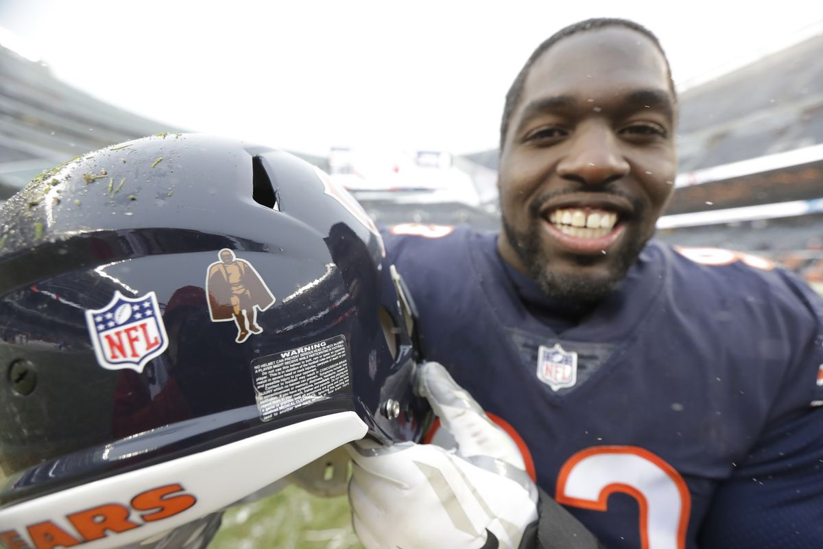 Former Bears linebacker Sam Acho hasn't been shy about speaking out on social justice.