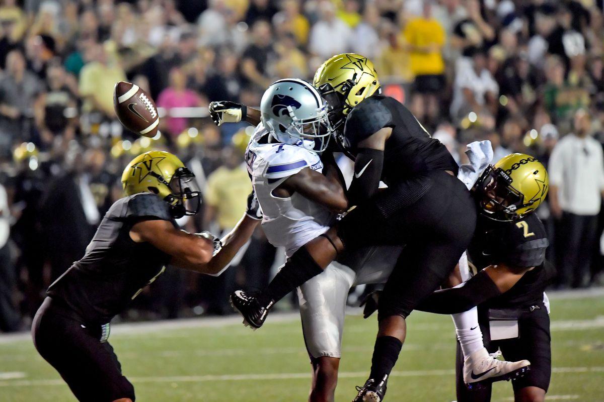 NCAA Football: Kansas State at Vanderbilt