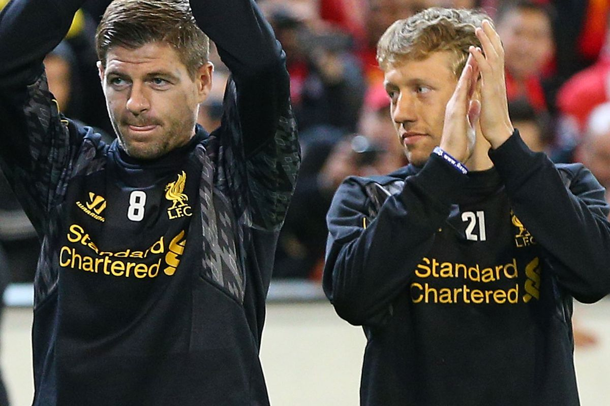 Patiently, Lucas continued to teach Stevie how to clap...