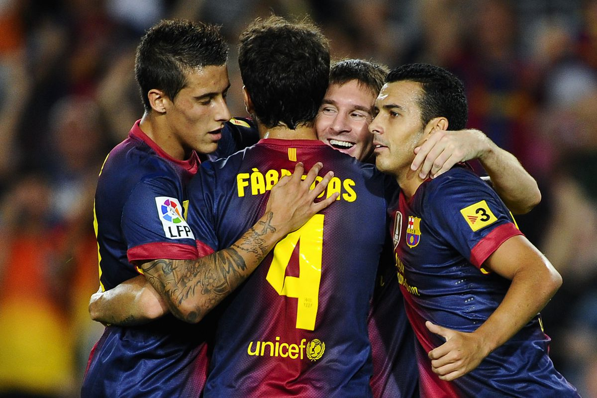 There was fun for all as FC Barcelona spread the ball and demolished Real Sociedad.