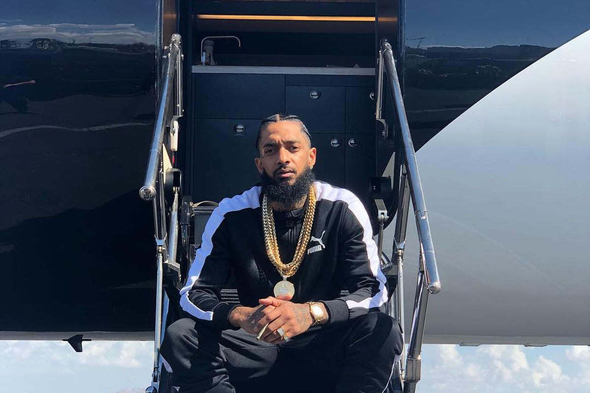 Nipsey Hussle was at his store to help a friend who was released from  prison before his death - REVOLT