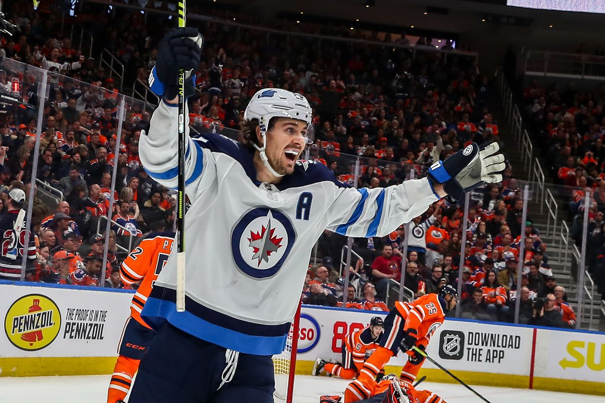 NHL: FEB 29 Jets at Oilers