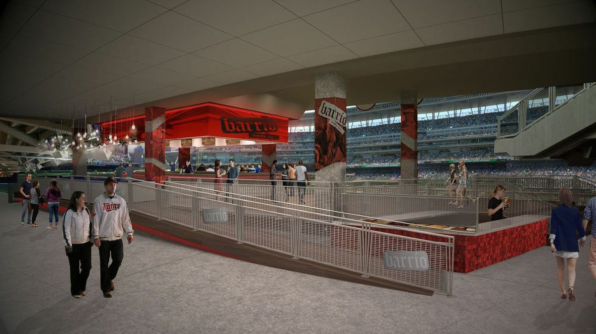 Photo courtesy Barrio at Target Field