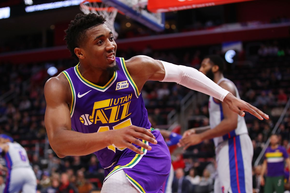 Is Utah s Donovan Mitchell turning the corner  - SLC Dunk ccd93ee7a