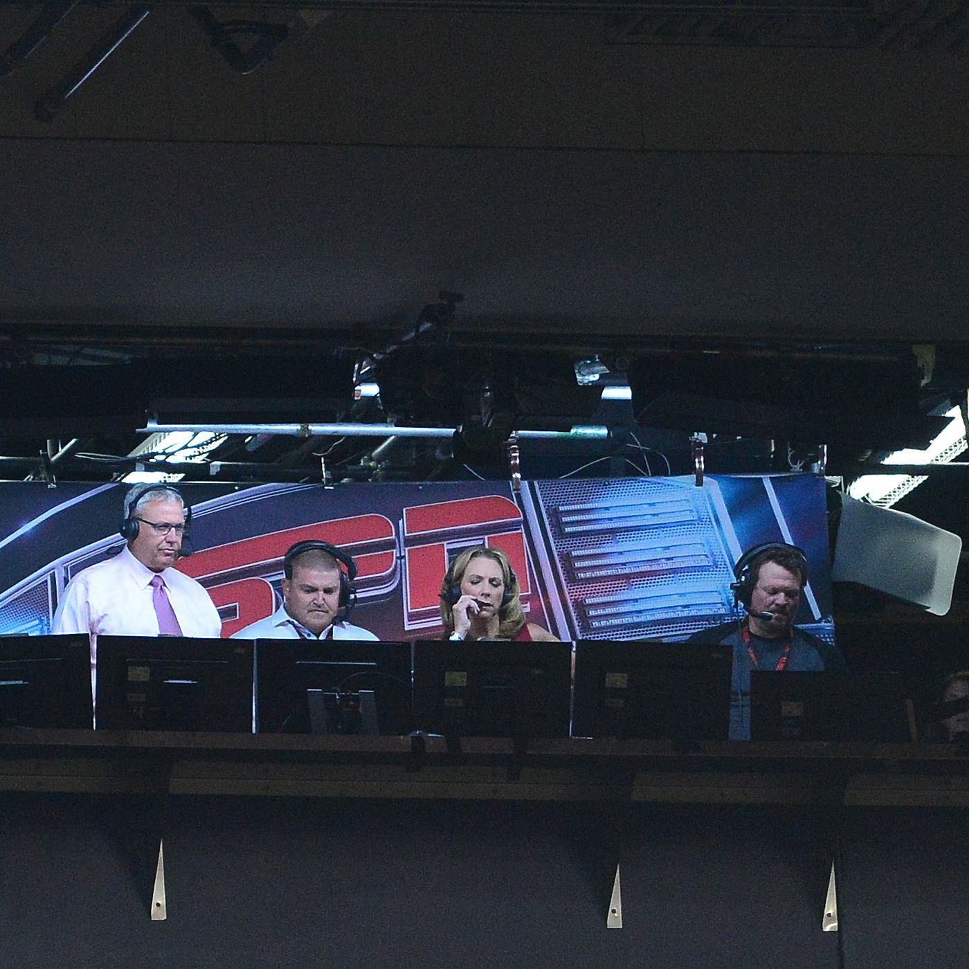 Wayback Machine Sideline Photo Fun When >> Lions Jets Week 1 Announcers Broadcast Team For Monday Night