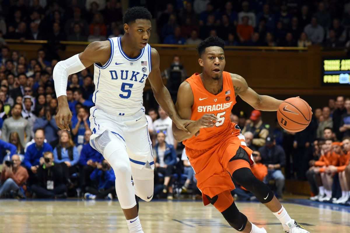 Syracuse Basketball S Tyus Battle Shines In 95 91 Overtime Win At