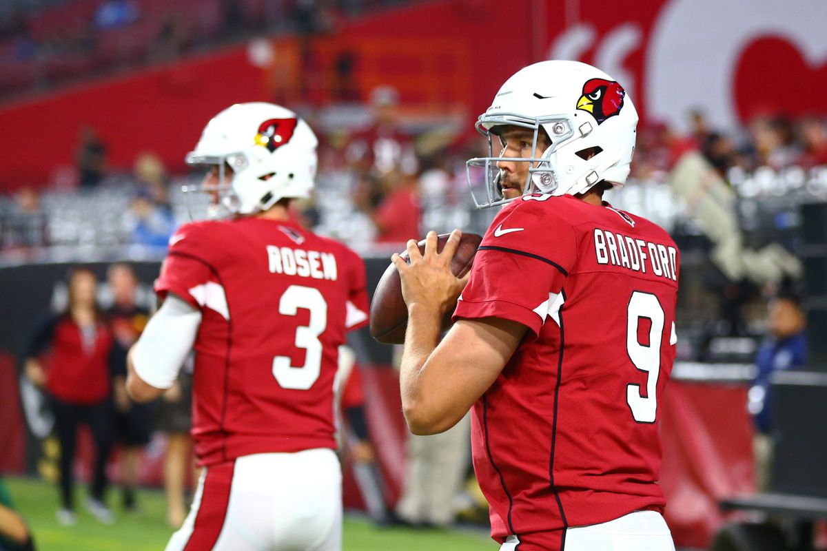 Josh Rosen will be Cardinals 9th starting QB since Russell Wilson s 2012  debut 6274df6a4