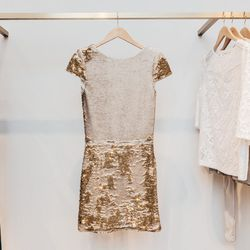 Sequined Dress, $570