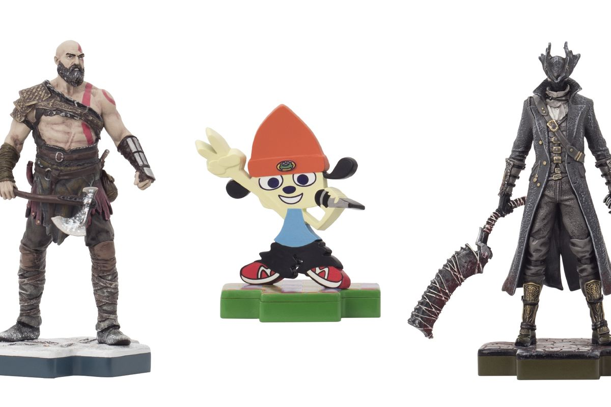 Sony gets own amiibo style toyline and… official PlayStation shoes
