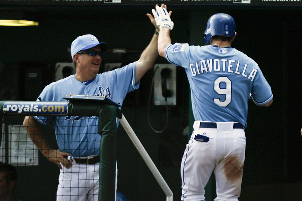 Johnny Giavotella is the new Royals starting second baseman.