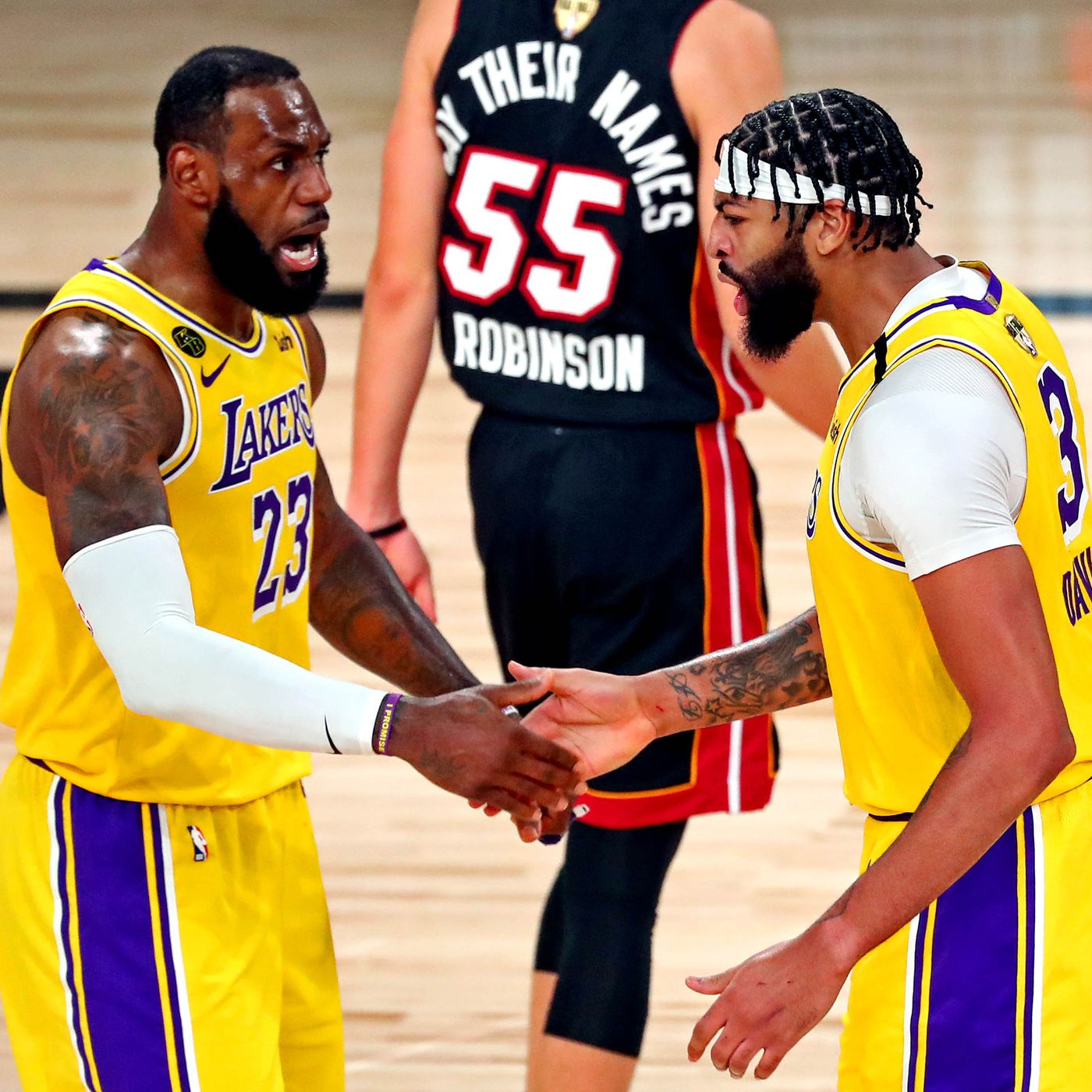Lakers Vs Heat Game 1 Results Anthony Davis Lebron Dominate In 116 98 Win To Open Nba Finals Draftkings Nation