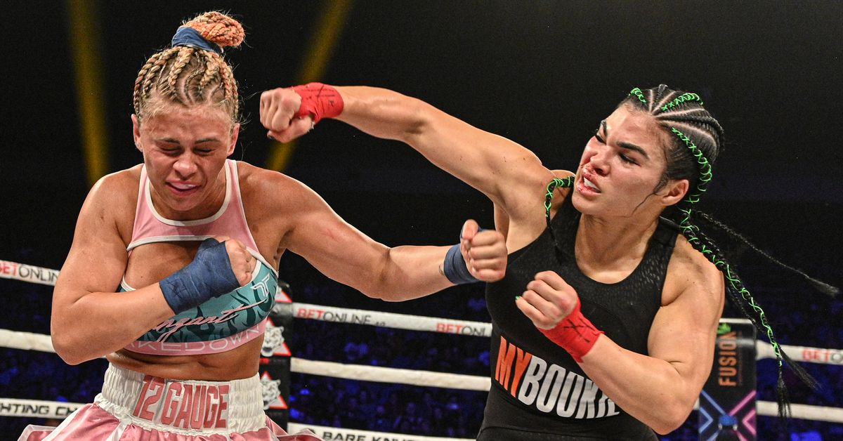 Rachael Ostovich reveals what she said to Paige VanZant during their fight at BKFC 19