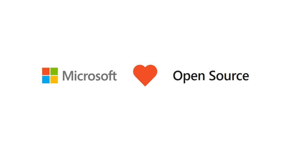 Microsoft heart open source