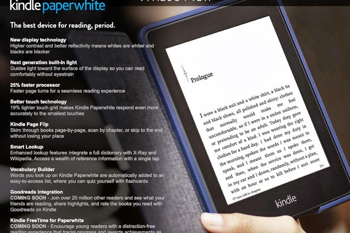 Kindle Paperwhite 2nd gen