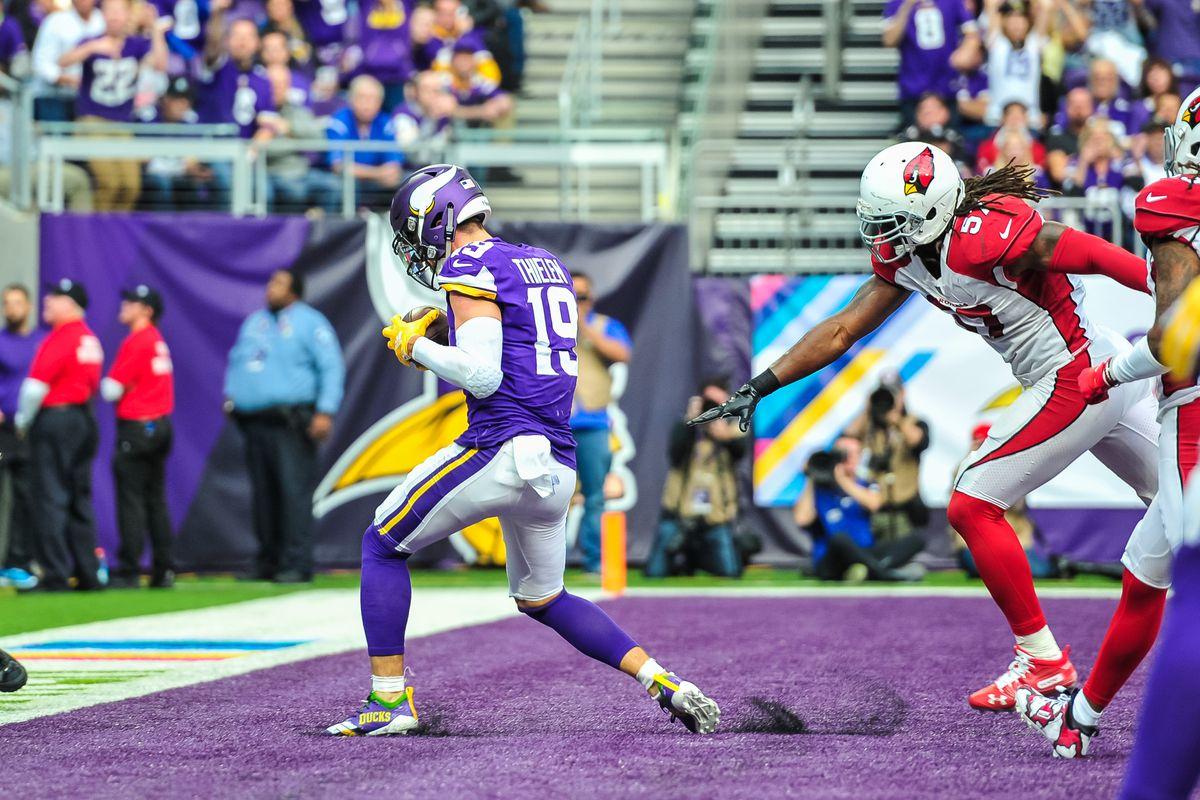 Adam Thielen is the best wide receiver in the NFL. Period. - Daily ... b7530e8a4