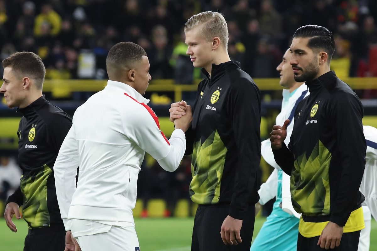 Borussia Dortmund V Paris Saint-Germain  - 欧洲冠军联赛16分:第一条腿
