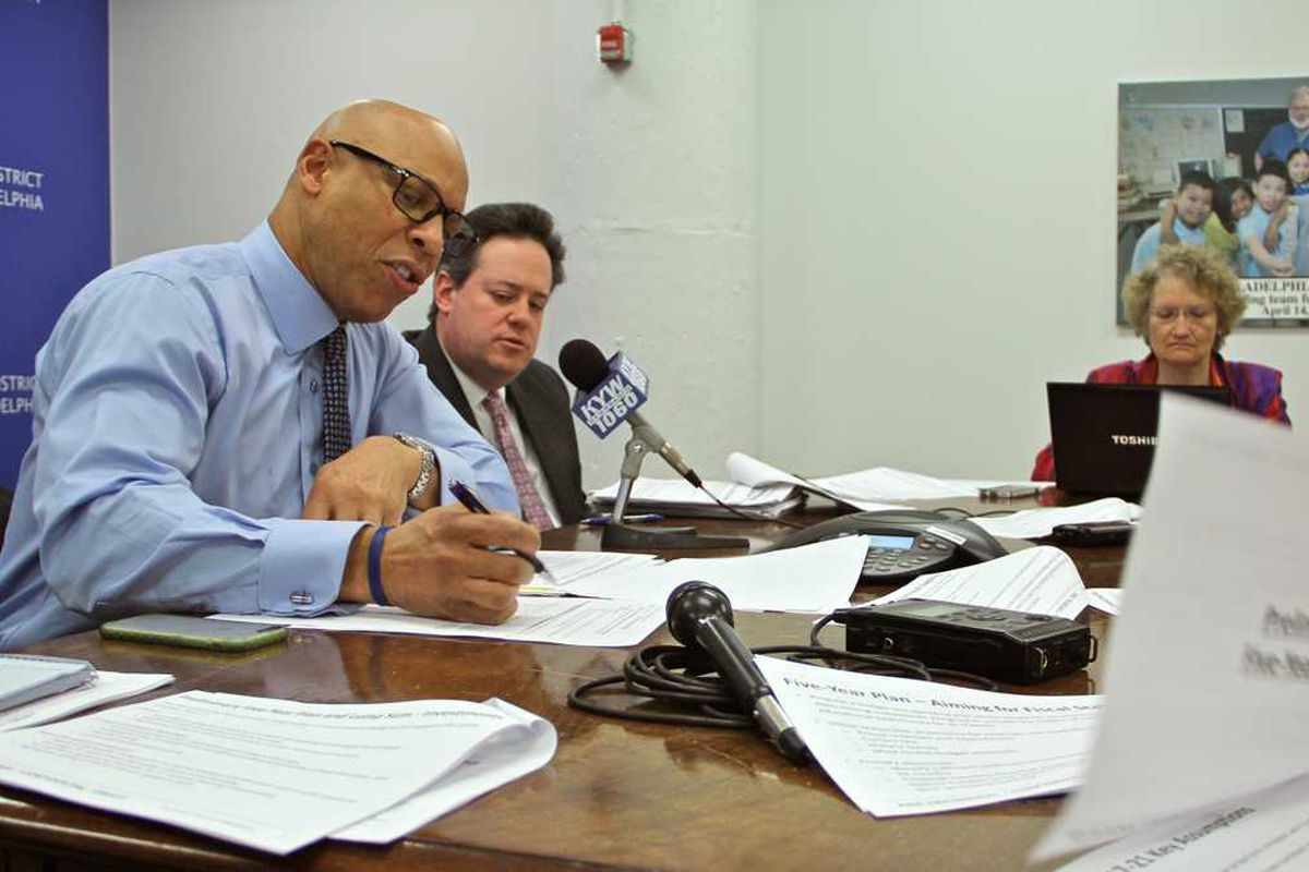Philadelphia Superintendent William Hite joined other area superintendents this week calling for charter funding reform.