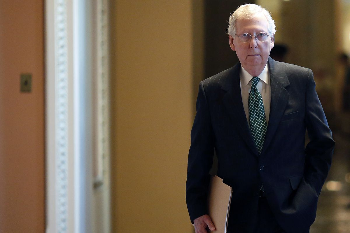 Mitch McConnell is pushing for a Brett Kavanaugh confirmation vote this week