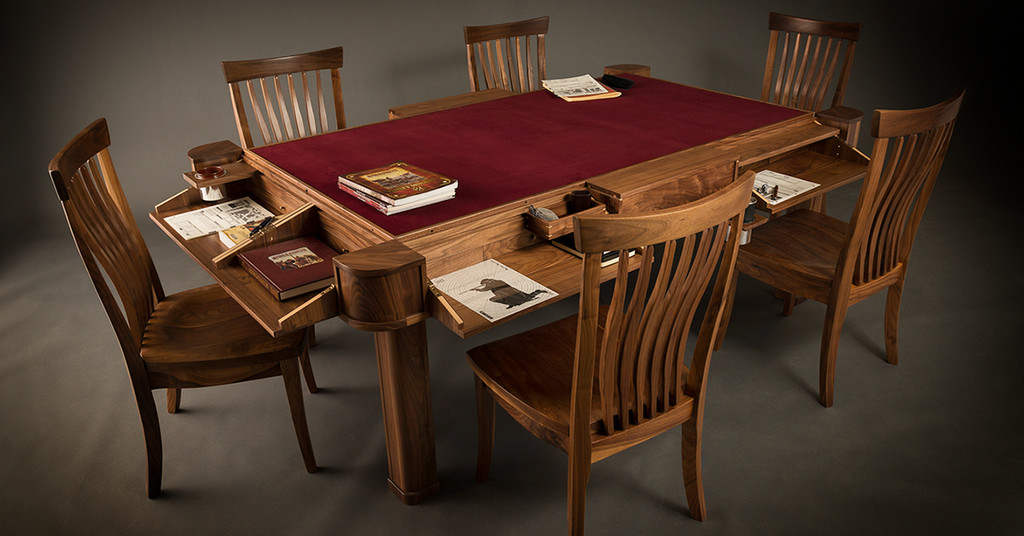 Geek Chic Maker Of Exquisite Gaming Tables Has Gone Out Of Best Wooden Gaming Table