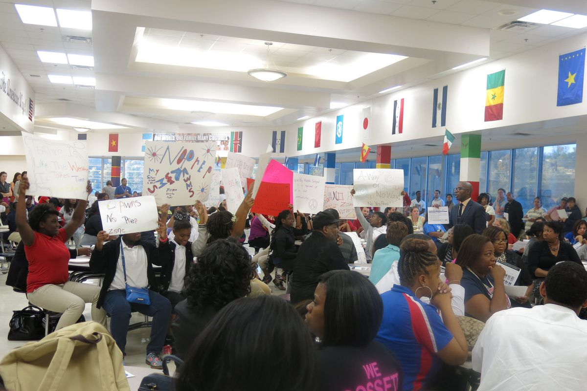 Protests over the state takeover of American Way Middle School in 2014, which is in Rep. Raumesh Akbari's district in Memphis, motivated her to file legislation designed to limit the power of the state's Achievement School District.